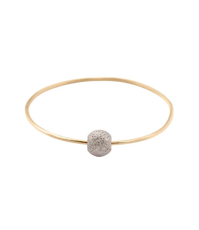 Bague en or et argent, Lsonge 95€
