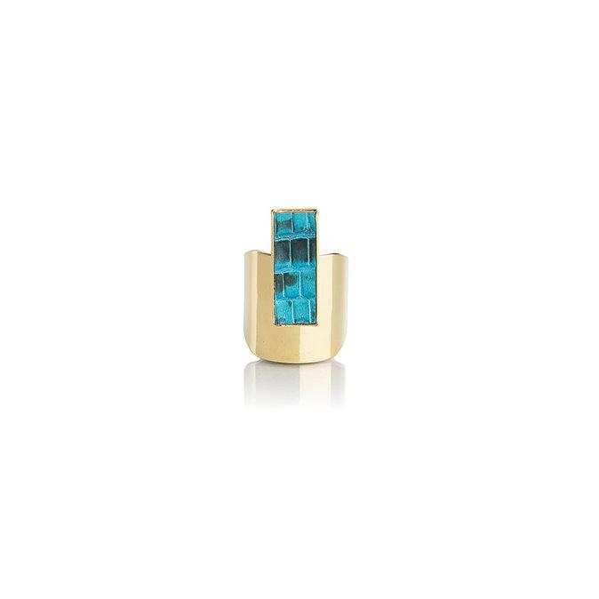 Bague en or, Opale 49€