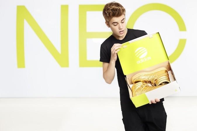 Justin Bieber pour Adidas Neo
