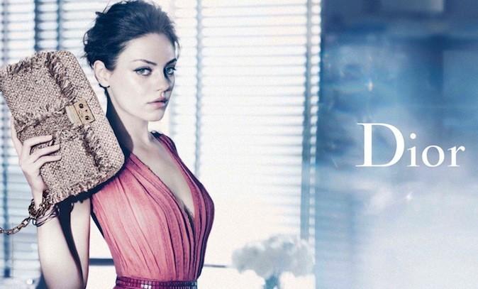 Mila Kunis pour Miss Dior