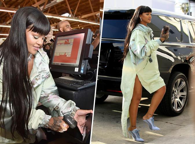 Rihanna : Elle crée l'émeute en jouant les caissières à l'ouverture d'un pop up store Fenty x Puma !