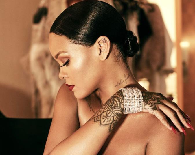 Rihanna présente sa collection de bijoux pour Chopard - Cannes, le 18 mai 2017
