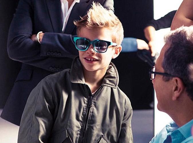 Romeo Beckham : Même en coulisse la star c'est lui !