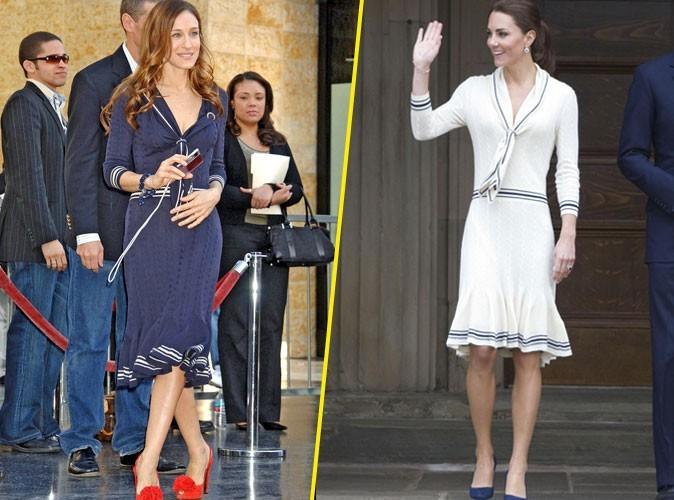 Sarah Jessica Parker VS. Kate Middleton : Qui porte le mieux la robe Alexander McQueen ?