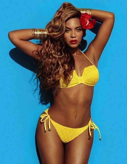 Beyoncé : Shooting pour la campagne H&M.