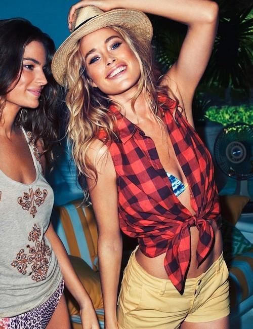 Doutzen Kroes : Campagne H&M printemps-été 2013