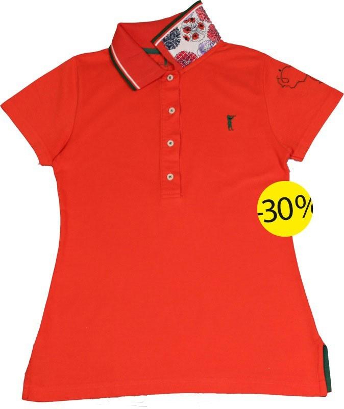 Polo femme by Polonation : 52,50 euros au lieu de 75 euros