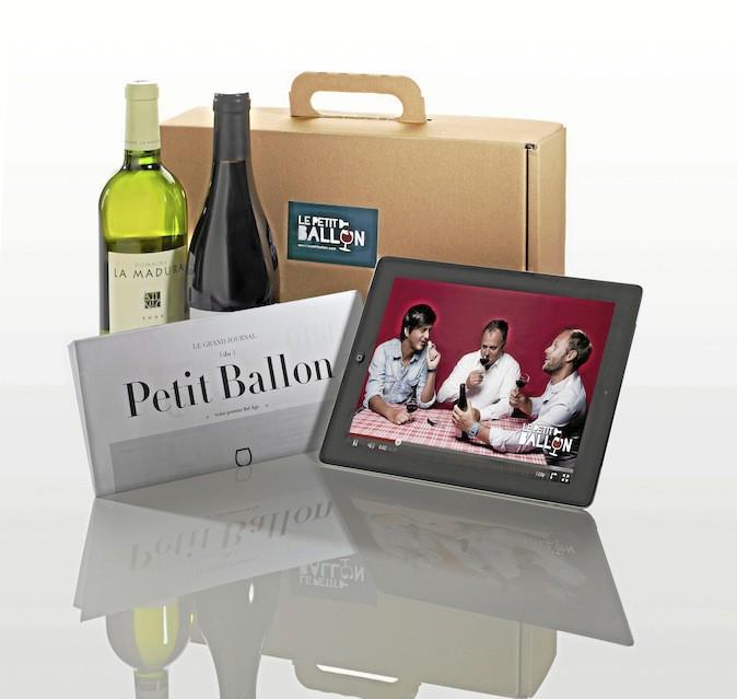 Box 2 bouteilles par mois + vidéos et fiches, lepetitballon.com 19,90€