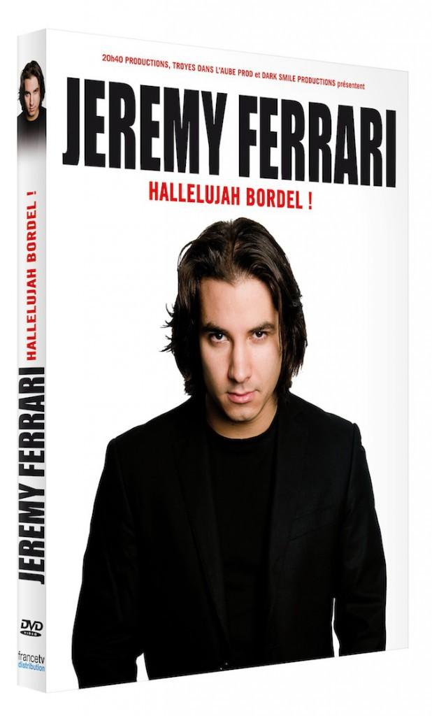 DVD Halleluyah bordel !, Jeremy Ferrari, France Télévisions Distribution 19,90 €