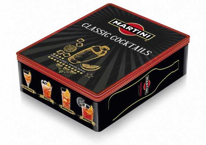 Coffret, Classic Cocktails, Martini 25 €