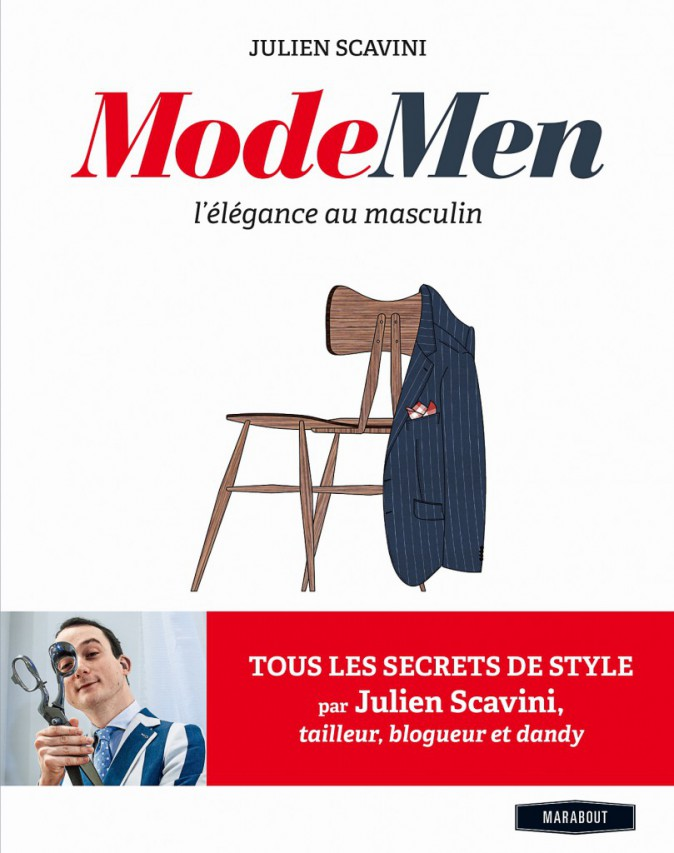 Livre Mode Men, de Julien Scavini, éditions Marabout 16,90 €