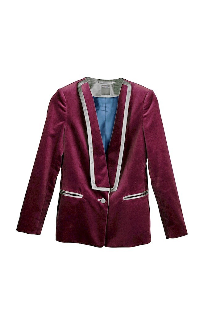 Veste velours sur mesure Mood by me 189 €
