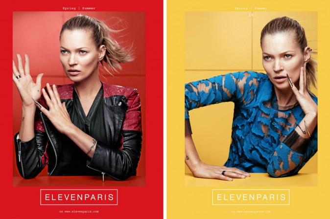 Kate Moss pour Eleven
