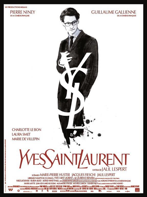 Yves Saint Laurent, de Jalil Lespert, sortie le 8 janvier