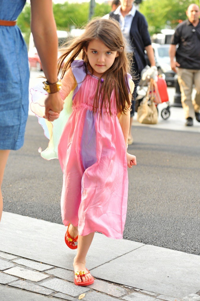 Une véritable petite fashionista !