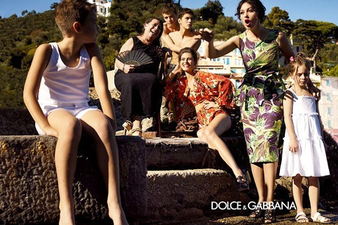 Campagne printemps-été 2012 Dolce & Gabbana