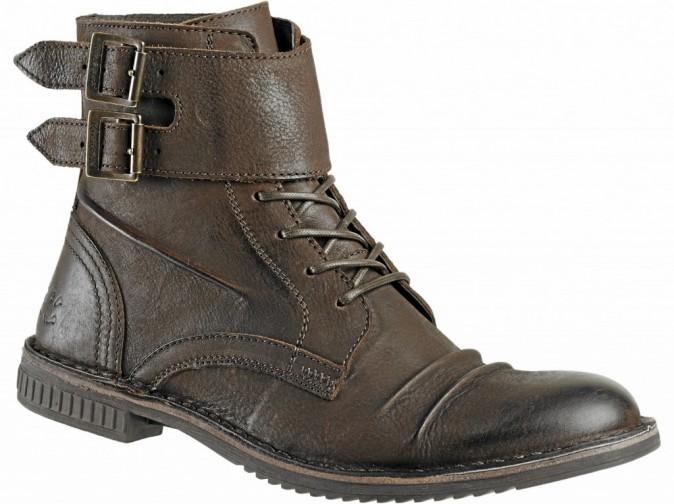 Boots en cuir Kickers à 149 euros