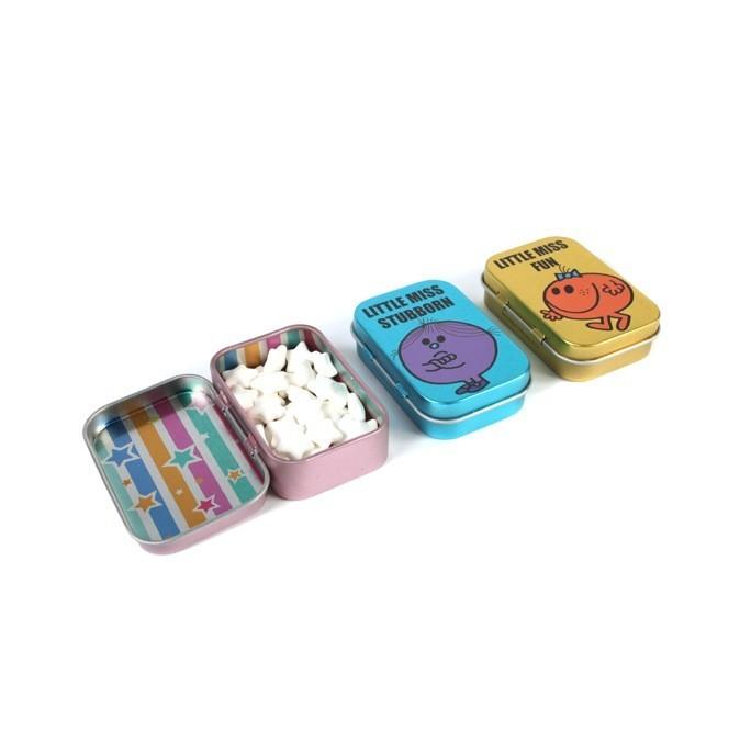 Set de 3 boîtes bonbons, Mr/Mme, 12 euros chez Colette.