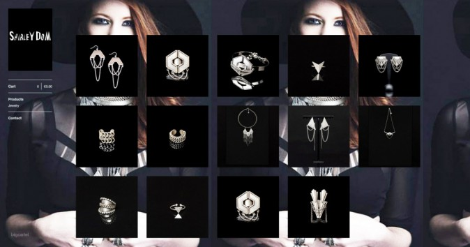 Bijoux dark : shirleydom.bigcartel.com !