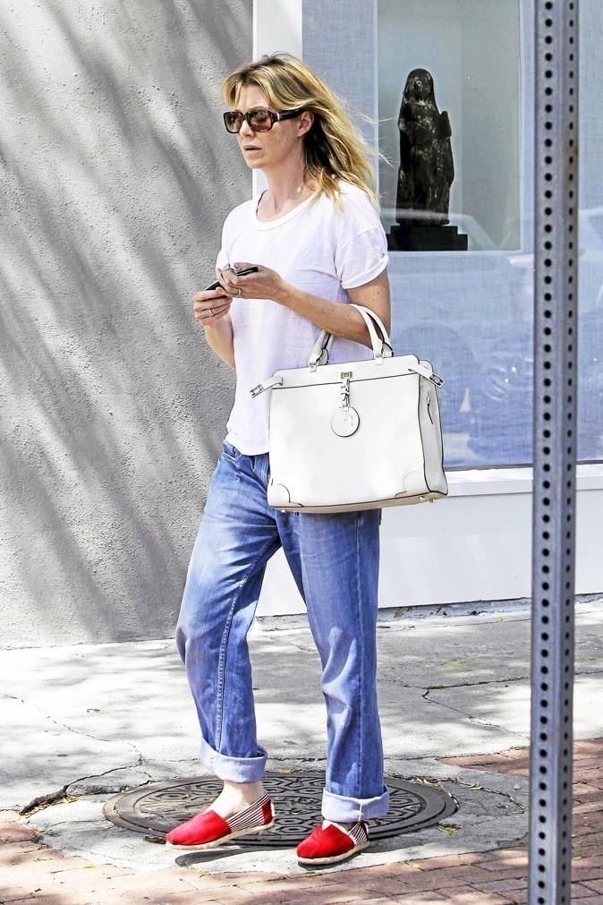 Ellen Pompeo : Version sportswear, ça marche pour elle!