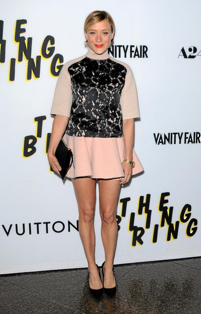 Chloë Sevigny : en Louis Vuitton et avec une jupe, la it girl a tout bon !