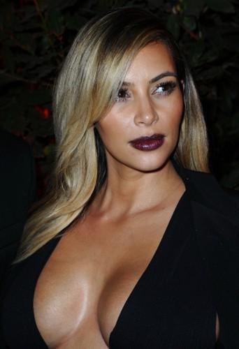 Kim Kardashian, reine du blond ?