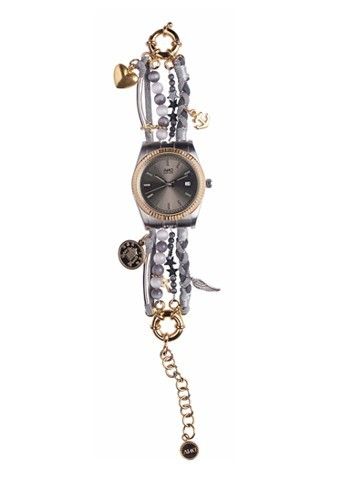 Montre cadranacier, perles, AND, 159 €.