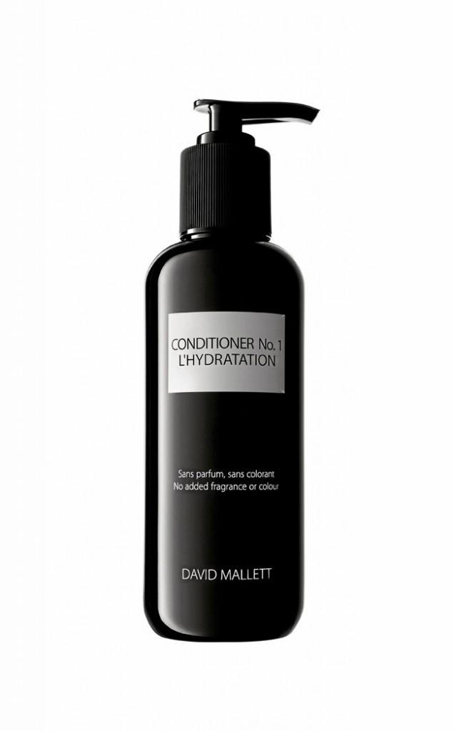 Après shampoing hydratant, David Mallett, 250 ml.38 €.