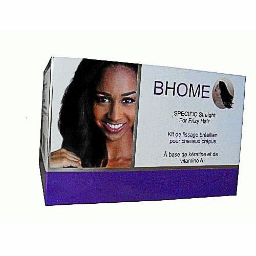 Kit de lissage brésilien pour cheveux crépus SpecifiKs, très frisés, Bhome. 50 €.