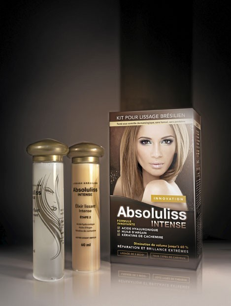 Kit lissage brésilien, Absoluliss Intense, absoluliss.fr. 78 euros