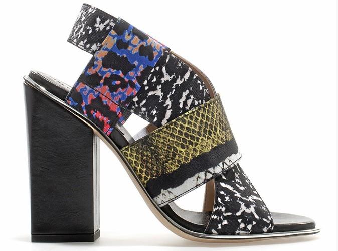 Chaussures imprimées, Zara, 89 €.
