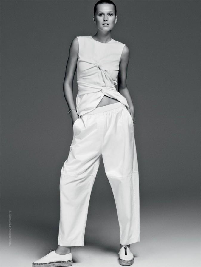 Une tenue totalement white