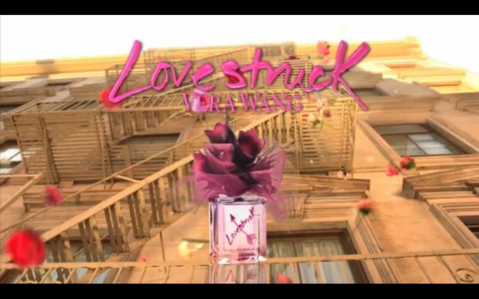 Le flacon de Lovestruck, fleuri et girly !