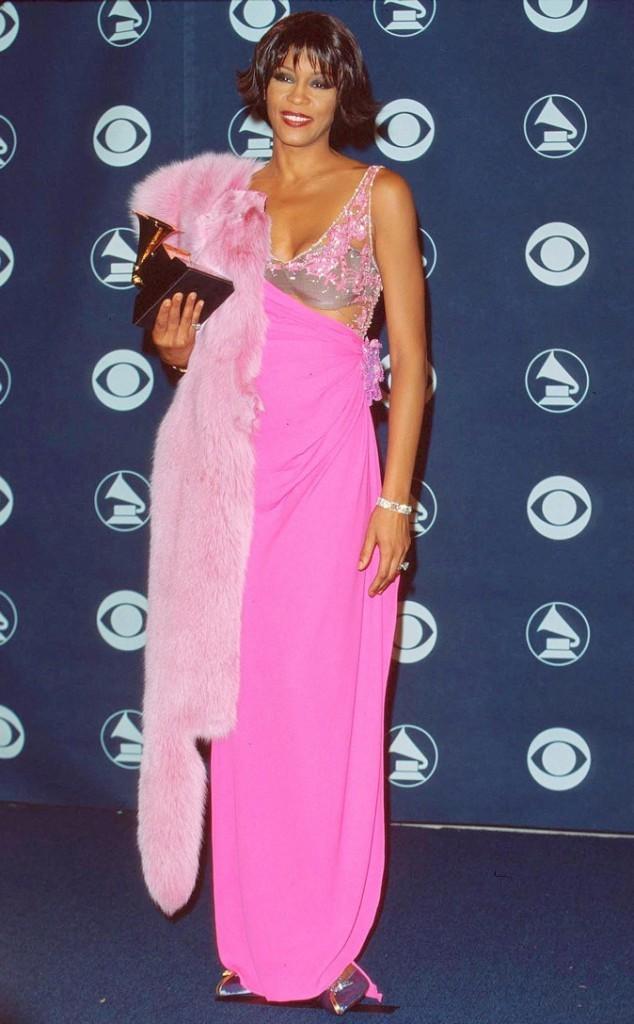 Février 2000 : Whitney Houston aux Grammy Awards à Los Angeles