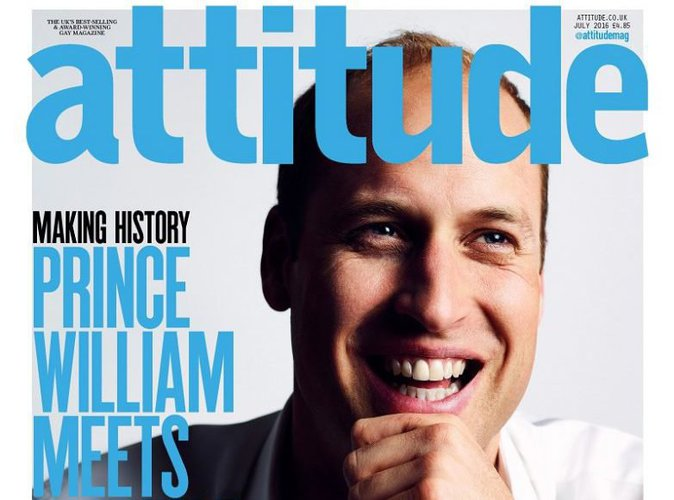 Prince William : sa couverture historique d'un magazine gay