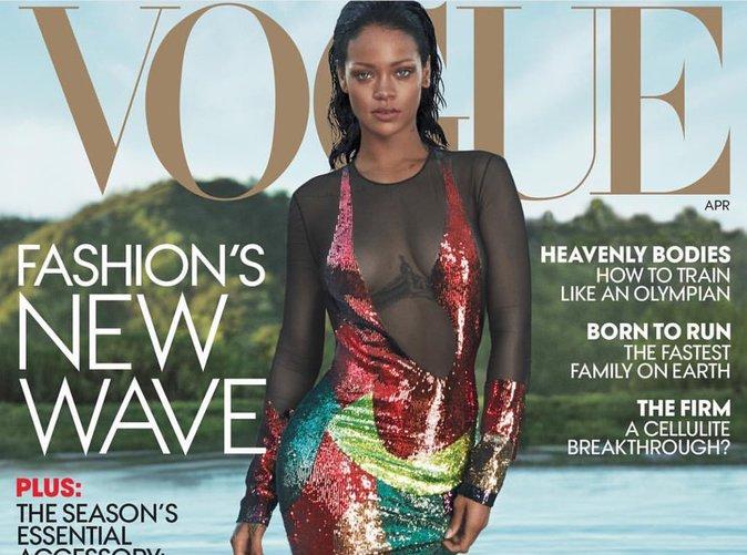 Rihanna : la Déesse marche sur l'eau pour Vogue