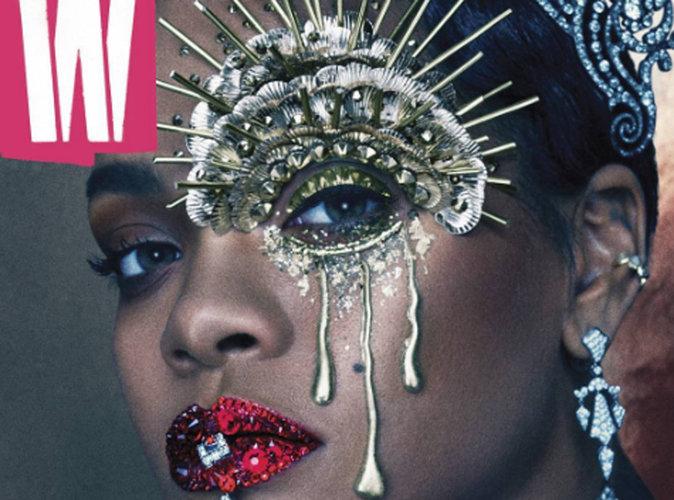 Rihanna : psychédélique en couverture de W Mag
