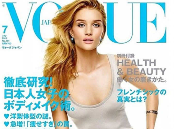 Rosie Huntington-Whiteley : elle affiche son body pour le Vogue Japon !