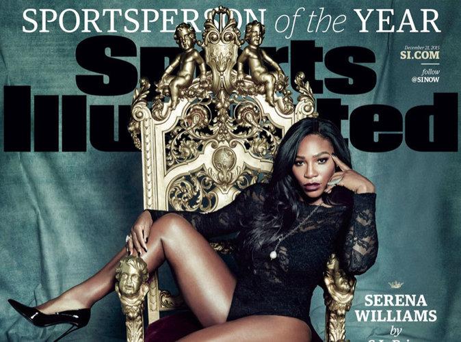 Serena Williams : féline en couverture du magazine Sports Illustrated !