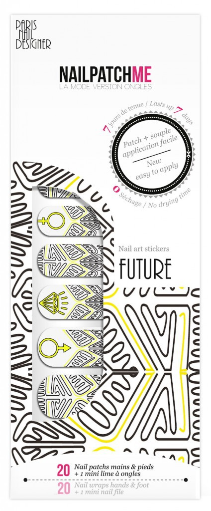 Patchs pour ongles, Future by Nailpatchme 9€