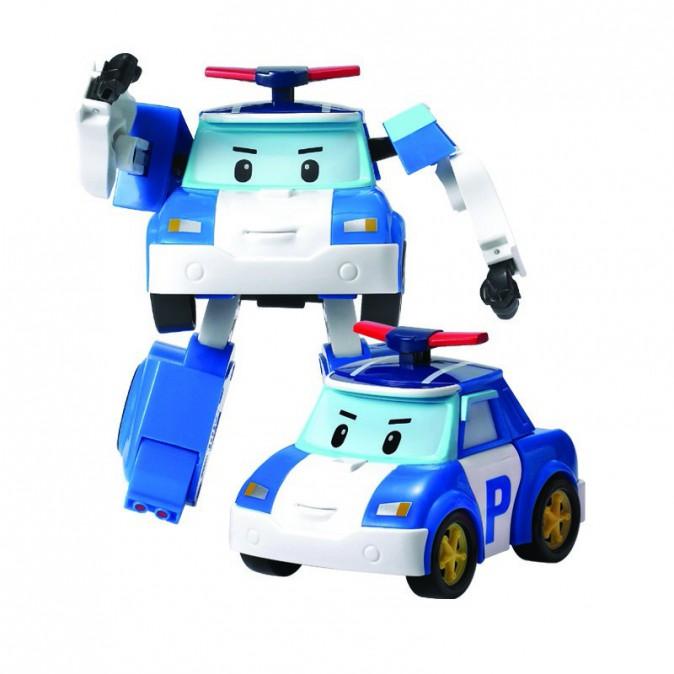 Voiture transformable en robot, Robocar Poli, La Grande Récré 90 €