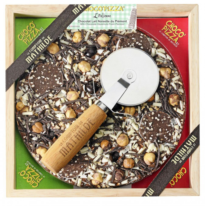 Choco'pizza L'Italienne Le comptoir de Mathilde 22,90 €