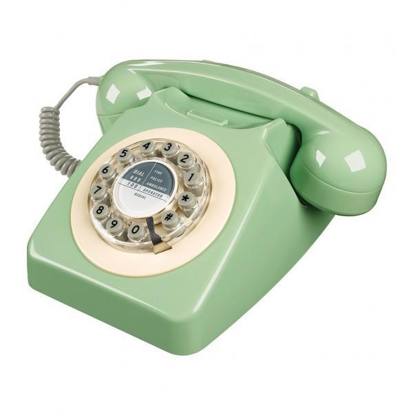 Téléphone fixe vintage, Wild & Wolf, sur lavantgardiste.com 65€