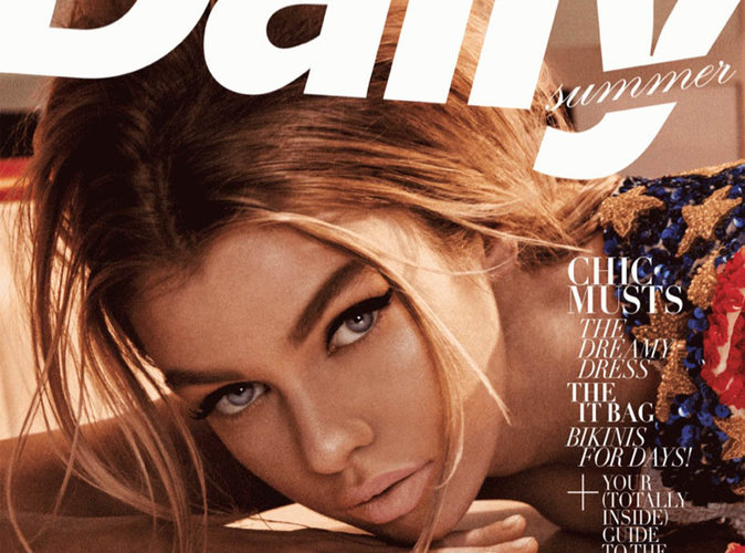Stella Maxwell : bombe rétro et sexy en couverture du magazine The Daily Summer