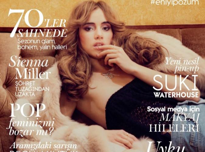 Suki Waterhouse : retour dans les années 70 pour Vogue !