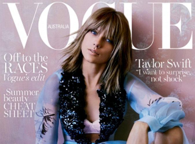 Taylor Swift : craquante et décolletée pour Vogue Australie, elle a peur de tout perdre !