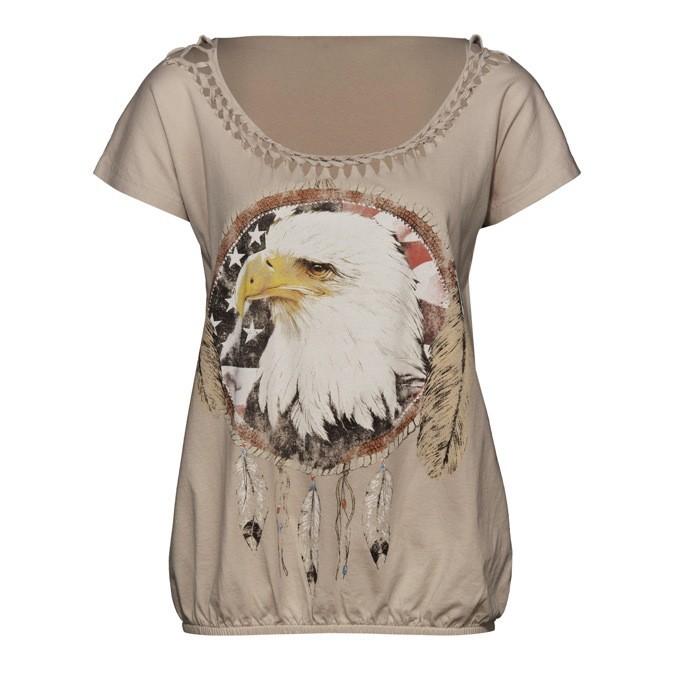 T-shirt inspiration Navajo imprimé « tête d'aigle », New Yorker. 14,95 €