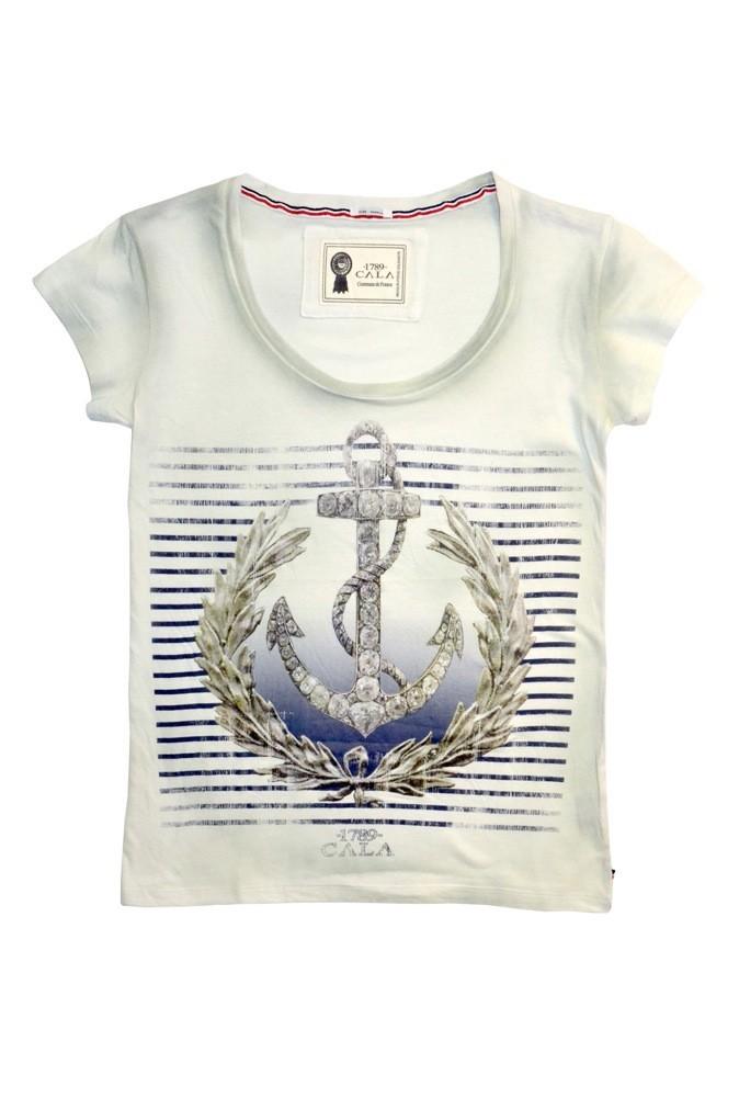 T-shirt Journal blanc, 1789Cala. 39 €