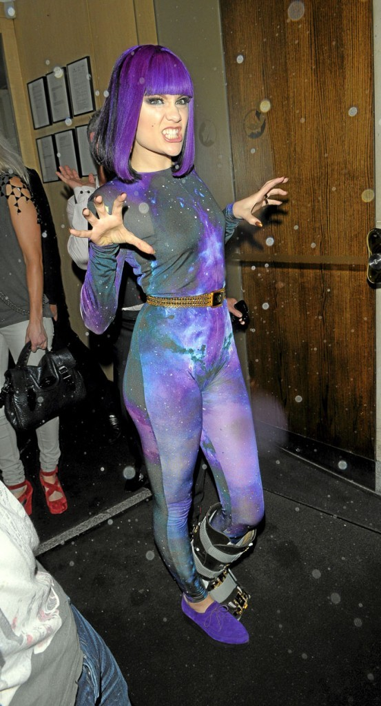 Jessie J et sa combi !