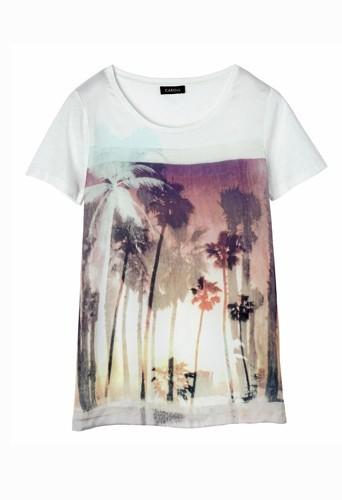 Tee-shirt en coton, style californien, Caroll 39 €